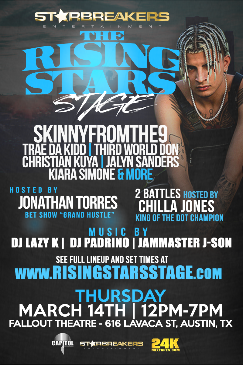 Rising Stars Stage at SXSW
